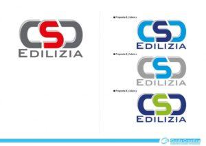 Marchio di CSD Edilizia S.r.l. - Prove di colore per sviluppi alternativi