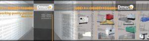 Rivestimento murario per allestimento di un padiglione fieristico. Dim. totale: 8 x 2,5 mt. Dim. moduli: 8 moduli da 1x2,5 mt. La divisione in moduli è utilizzabile in padiglioni di diverse dimensioni.