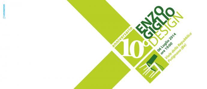 Invito per Evento in occasione dei Festeggiamenti per il 10° anno di attività