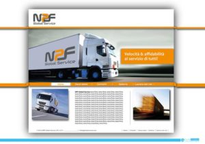 Sito internet aziendale per NPF Global Service S.r.l.